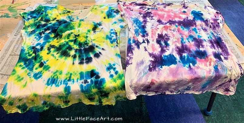Tie Dye Tee Shirts 9-1-19